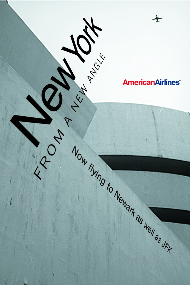 American Airlines, Angles, 'Guggenheim', BMP:DDB
