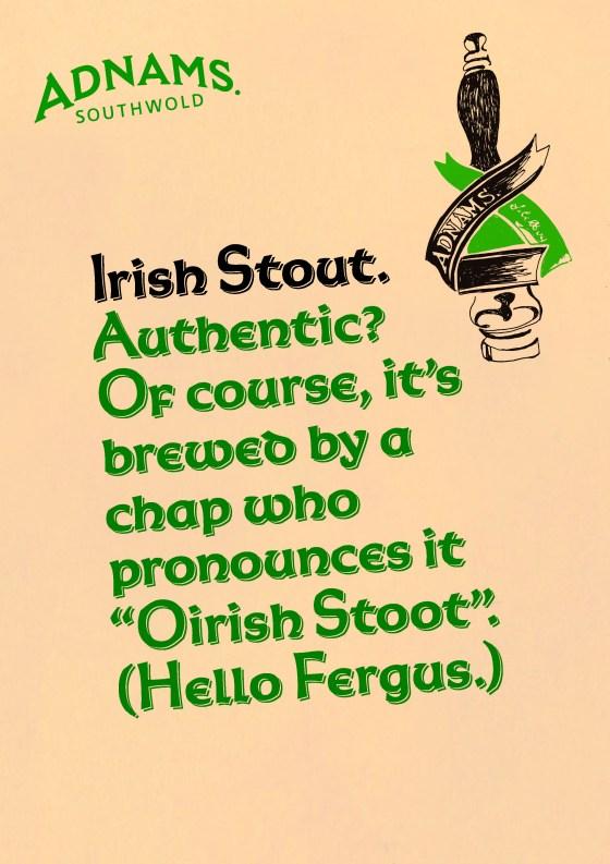 'Authentic? Of Course' Irish Stout, Adnams.jpg