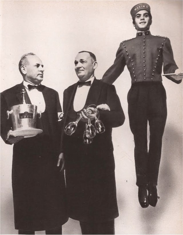 Guy Bourdin 'Bellhop & Waiters', French Vogue Dec. Jan 1970