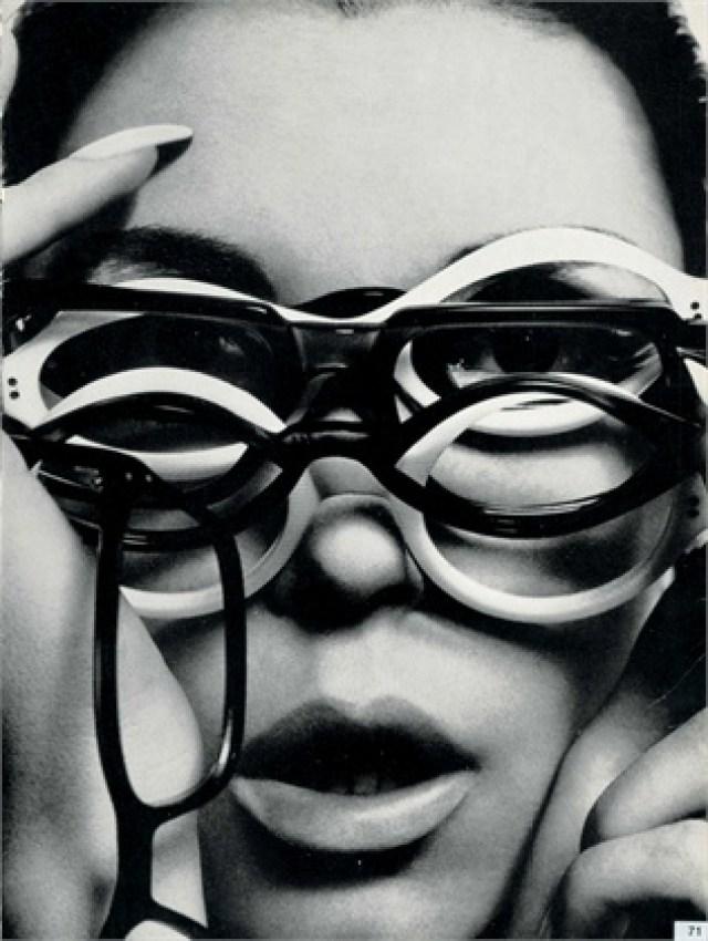 Guy Bourdin 'Multi-Glasses'