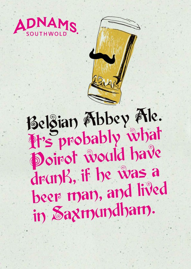 'It's Probably What' Belgian Abbey Ale, Adnams