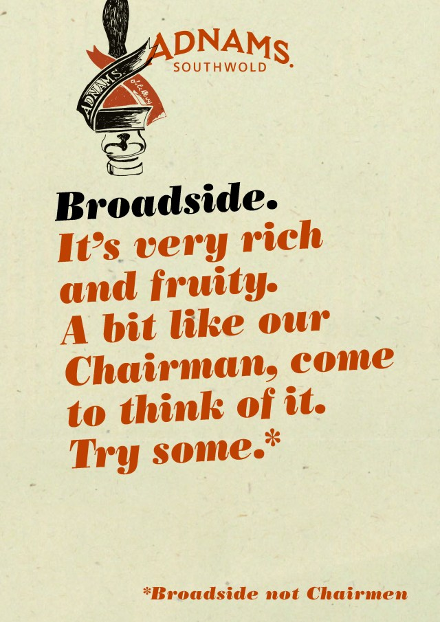 'It's Very Rich 2' Broadside, Adnams.jpg
