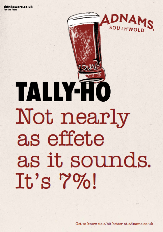 'Not Nearly As' Tally Ho, Adnams.png