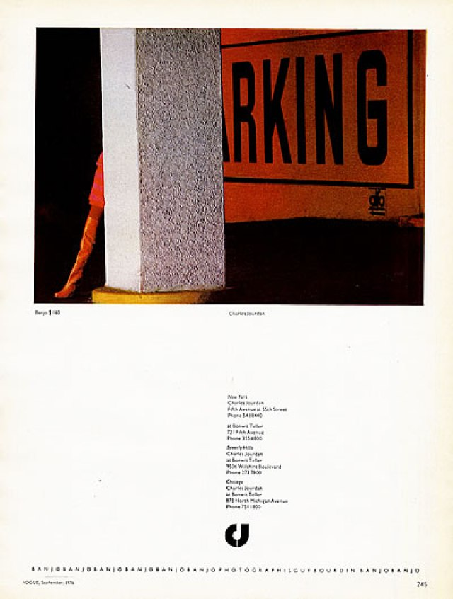 'Parking:Pillar', Charles Jourdan, Guy Bourdain.jpg