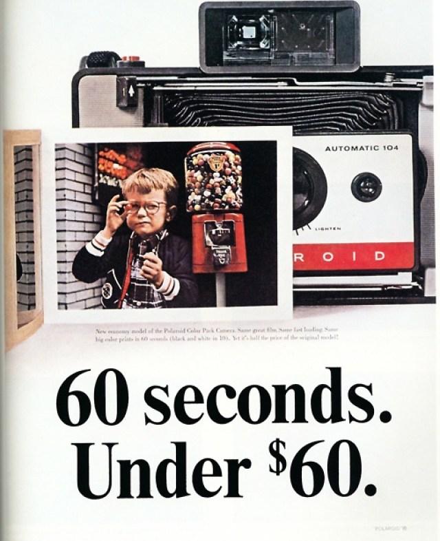 60 '60 Seconds. Under $60' - Polaroid, DDB NY..jpg