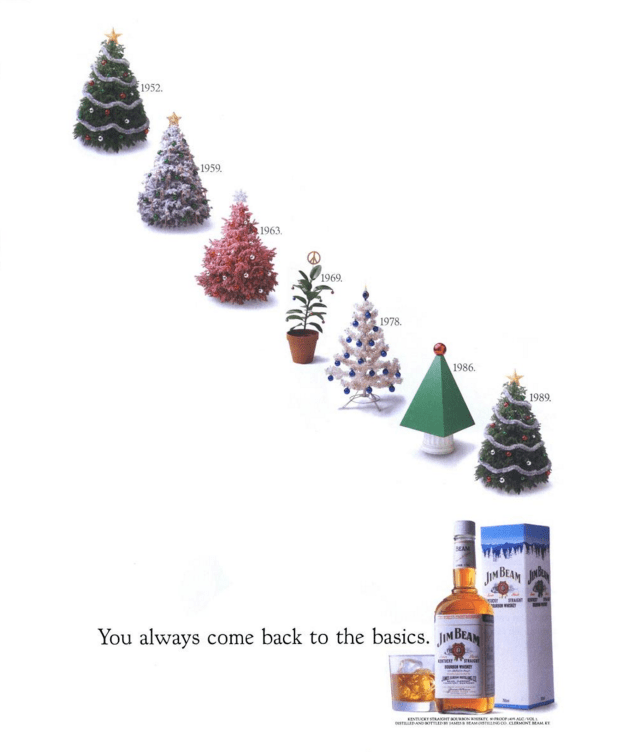 'Christmas Trees**' Jim Beam, Fallon McElligott.png