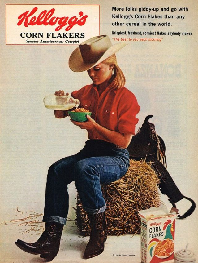 'Cow Girl' Kellogs, Howard Zieff*
