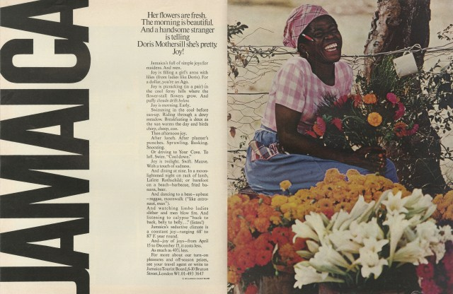'Her Flowers Are' Jamaica, Robert Freson, DDB NY-01.jpg