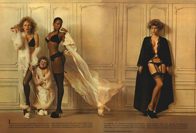 Jean Paul Goude 'Lingerie', Esquire.png