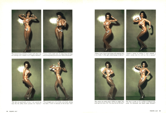 Jean Paul Goude 'Stripping', Esquire.png