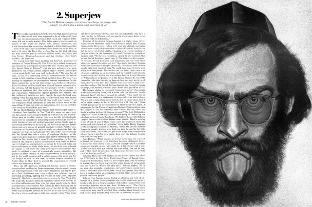Jean Paul Goude 'Superjew', Esquire.png