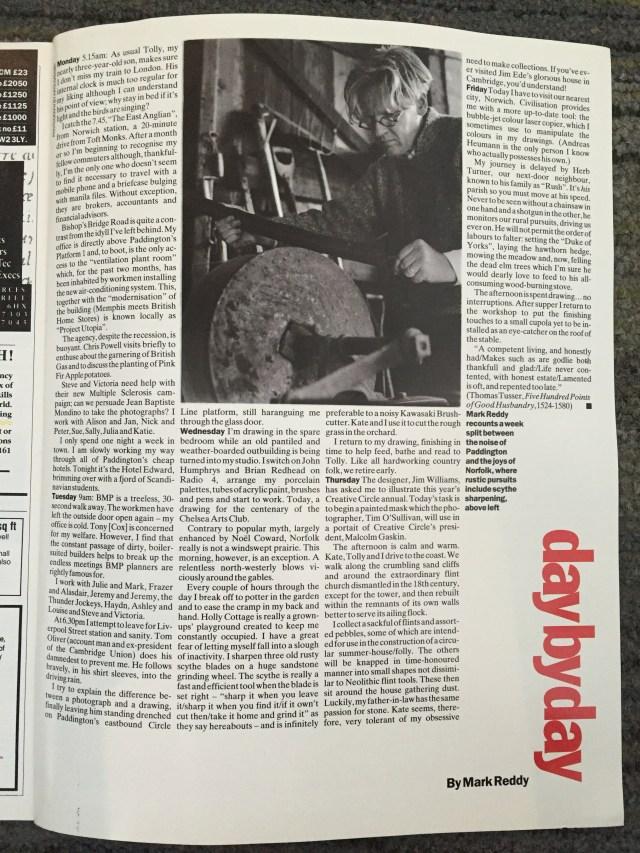 Mark Reddy:Interview