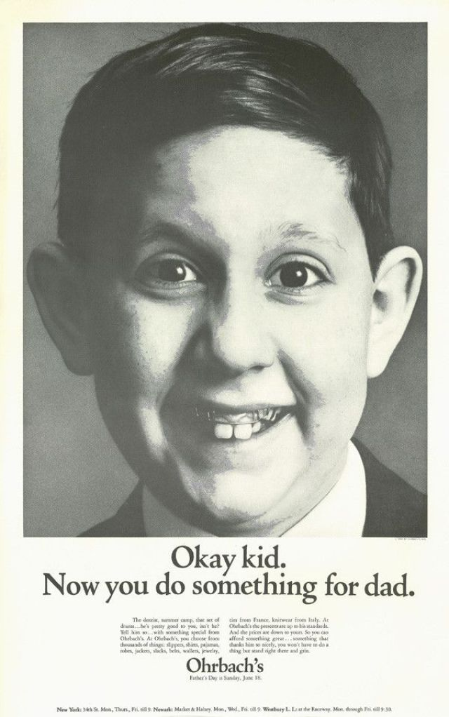 'Okay Kid' Ohrbach's, Howard Zieff, DDB NY.jpg