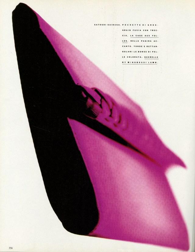 'Pink Bag 2' Vogue Italia, Satoshi Saikusa-01
