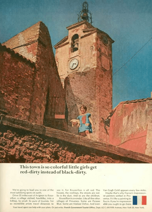 'This Town' French Tourist Board, DDB NY, 1960's.png
