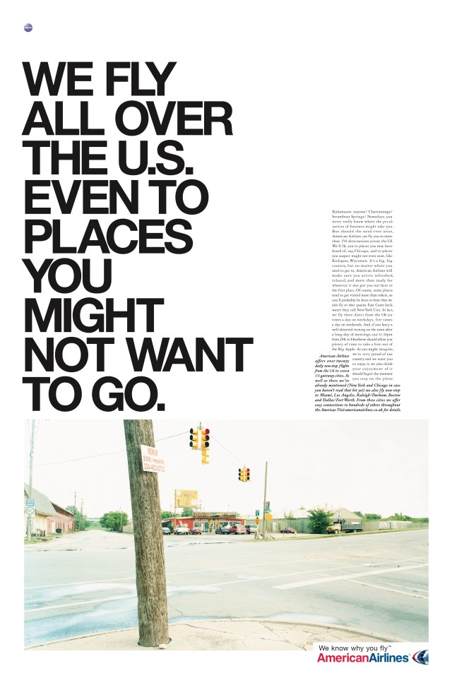 'We Flyr' American Airlines, Mark Reddy, McCann's.jpg