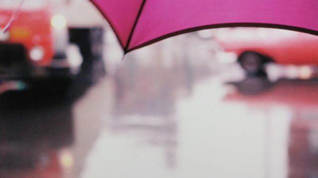 0. 'Magenta Umbrella', Saul Leiter:Dave Dye