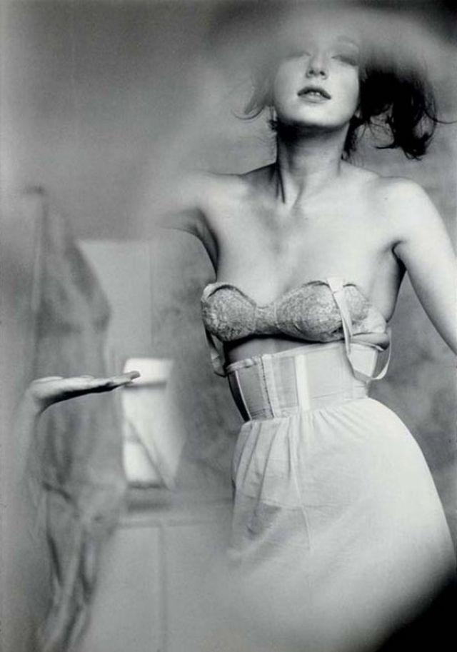 0. 'lingerie-harpers-bazaar-1955', Saul Leiter:Dave Dye