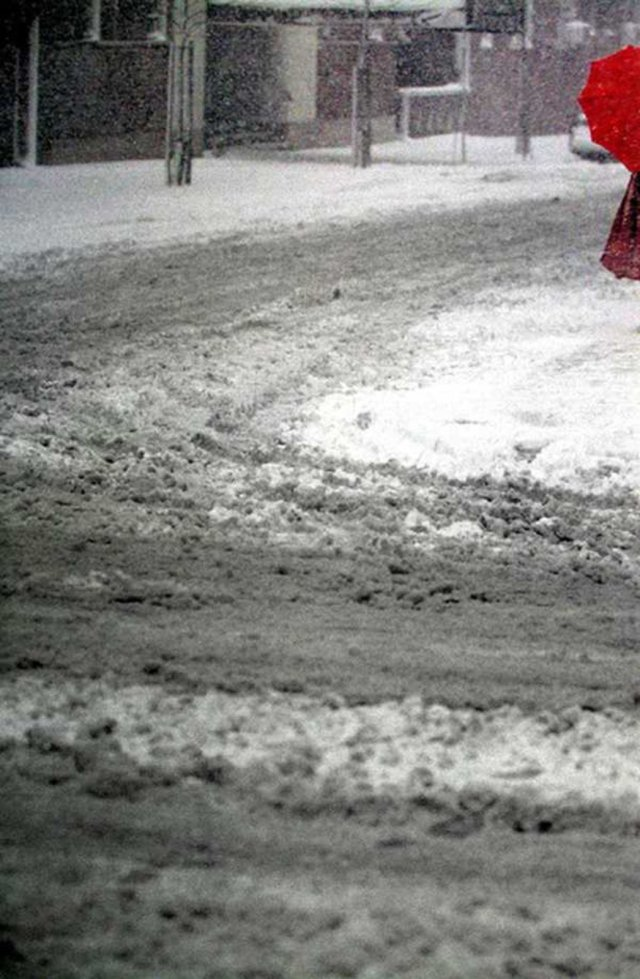2. 'Red Umbrella', Saul Leiter:Dave Dye