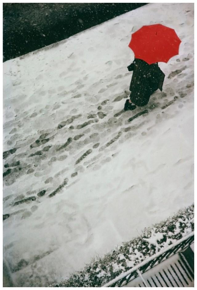 3. Saul Leiter 'Footprints', 1950