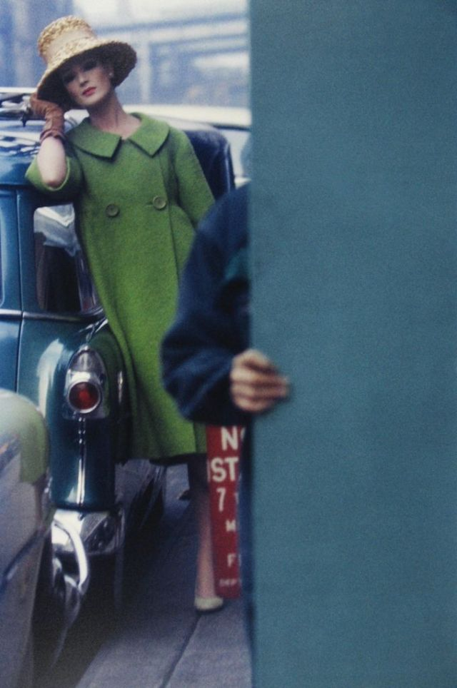4. ', Saul Leiter:Dave DyeSaul Leiter 'Green Coat'