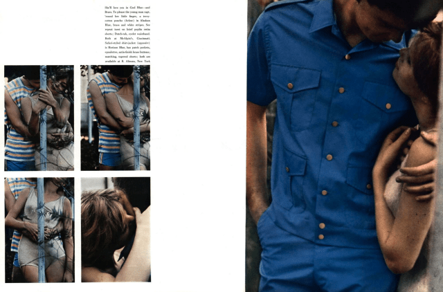 6c. Saul Leiter 'Cool Blue', Esquire