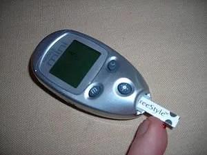 Photo of Bayer Glucose Monitoring Device