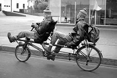 Jesse and Ricardo Erie PA Recumbent bicycle