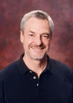 Photo of Dr. Kent Hughes from Preach The Word. IMHO, Kent doesn't look like this anymore, he is clean-shaven and his hair is completely grey.