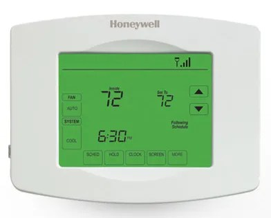 The Monochrome Honeywell Touchscreen WiFi Thermostat