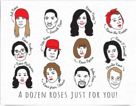 A Dozen Roses Just For You by Postable