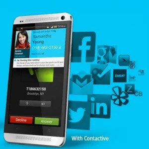 Contactive Free Caller ID App for Android Image