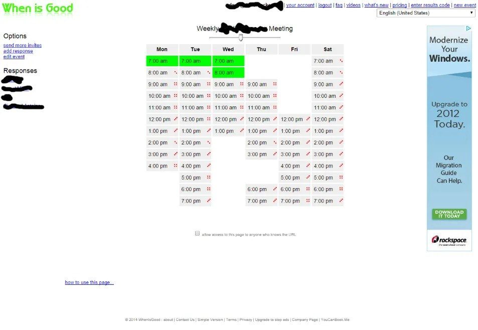 When Is Good Results Screenshot