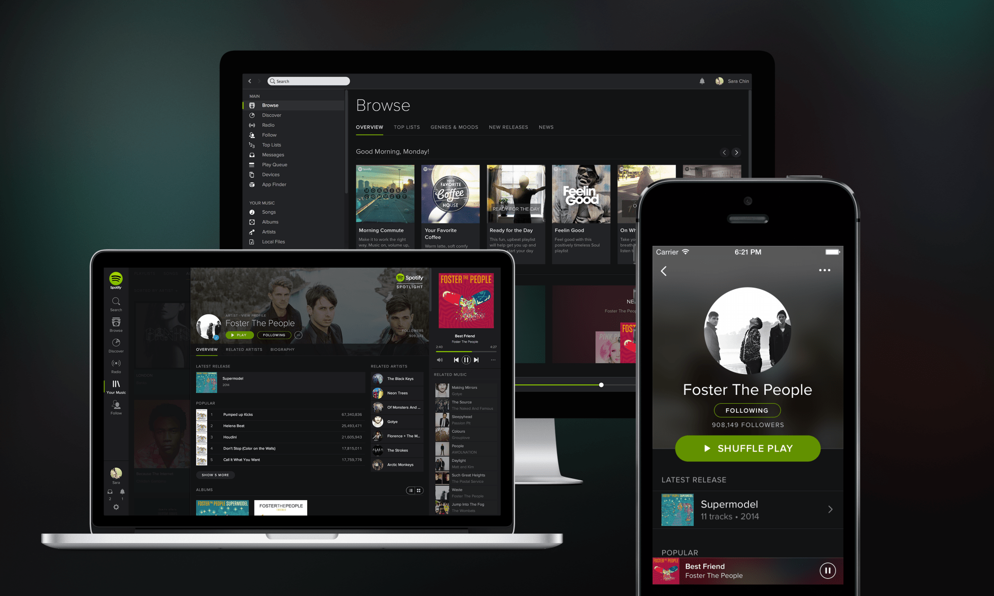 Image of Various Spotify Apps