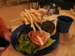 Chris's elk burger