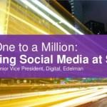 Managing Social Media at Scale