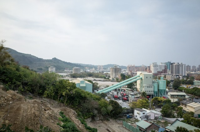 Site of the old Kaohsiung Cement Factory