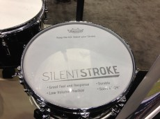 PASIC 2013 Thursday Remo's New Mesh Drumhead Silent Stroke
