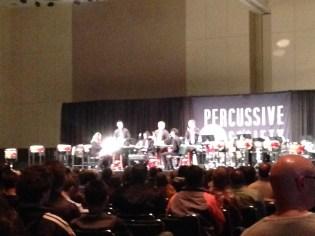 PASIC 2013 Thursday Michigan State Percussion Ensemble