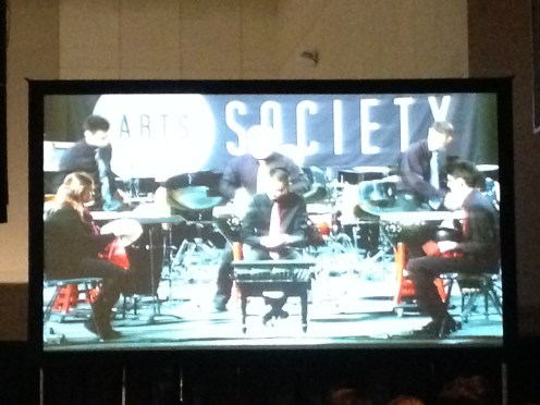 PASIC 2013 Thursday Michigan State Percussion Ensemble