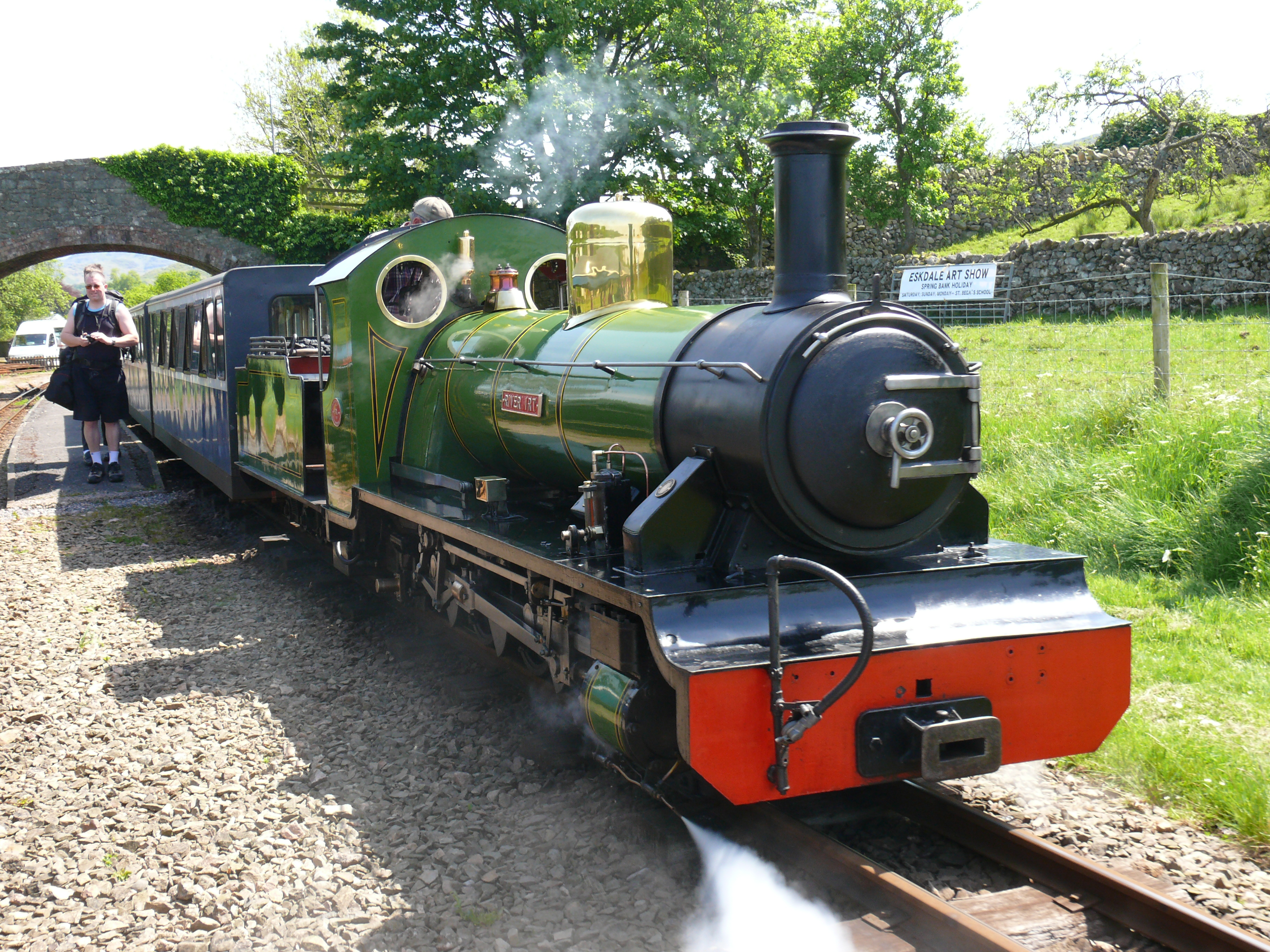 Raven Glass and Eskdale Railway