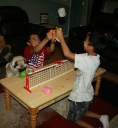You can't help but laugh when you play Pig Pong. Except for Dizzy, he's cursing his lack of opposable thumbs...