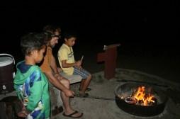 Campfire and Jiffy Pop