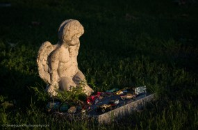 Cherub With Toy Cars - Texas