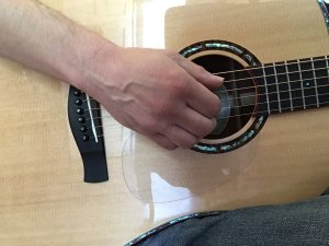 relaxed picking position