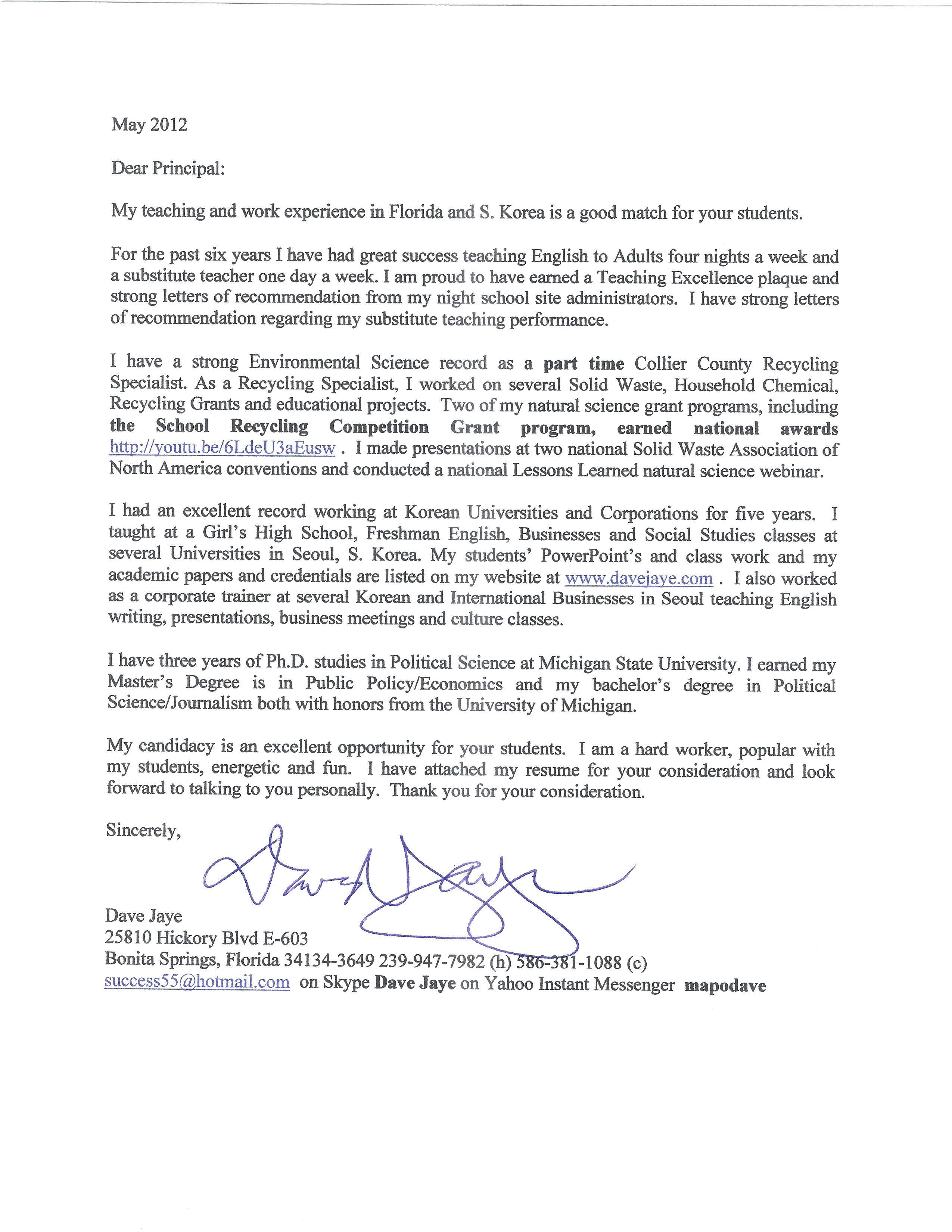 Cover Letter For Kindergarten Teacher Assistant] teacher aide cover ...