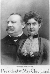 Grover and Francis Cleveland