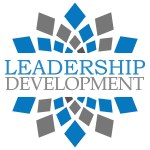 Leadership Development Blue Grey Square Elements