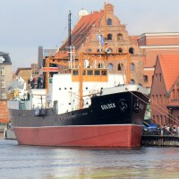 Steam ship, SOLDEK, Gdansk, Poland