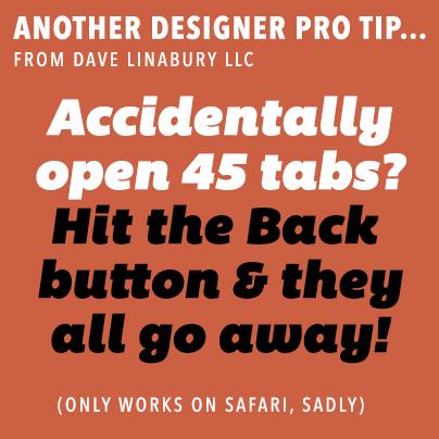 Designer Pro Tip #3